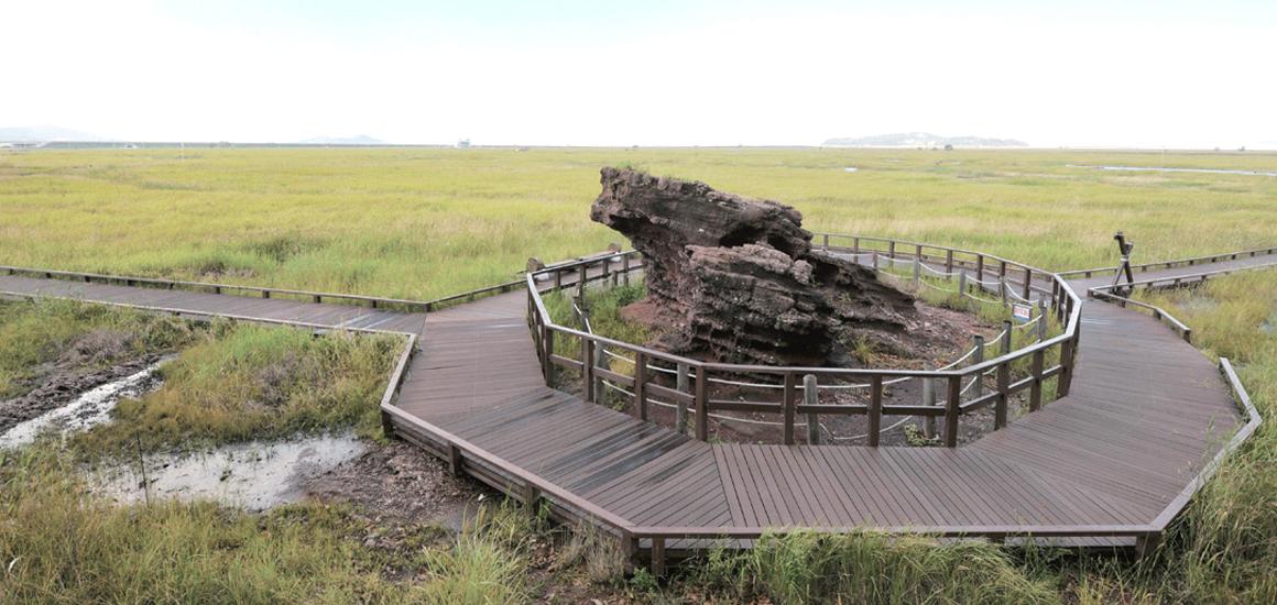 공룡알화석산지 유적
